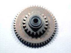 SMOOTH SPUR GEAR VER2/VER3/VER6 WITH BALL BEARING