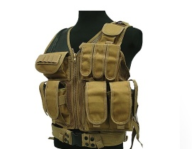 Tactical Mesh Vest TAN