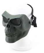 MASQUE SKULL GRILLAGE OD