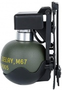 GRENADE M67 AVEC SUPPORT MOLLE