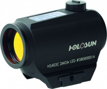POINT ROUGE HOLOSUN SOLAIRE +PILES  HS403C